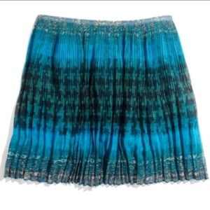 ✳️MADEWELL✳️MULTI-PRINTED PLEATED SKIRT✳️